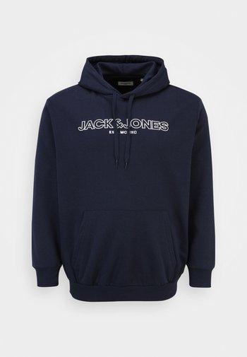 JJBANK HOOD - Sweatshirt - navy blazer