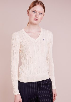 KIMBERLY - Strickpullover - cream
