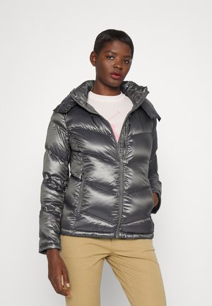INSULATED COAT - Down jacket - pewter