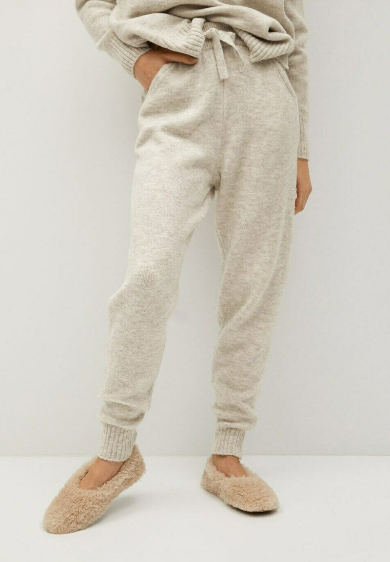 Mango - COSY-I - Pantalon de survêtement - grey
