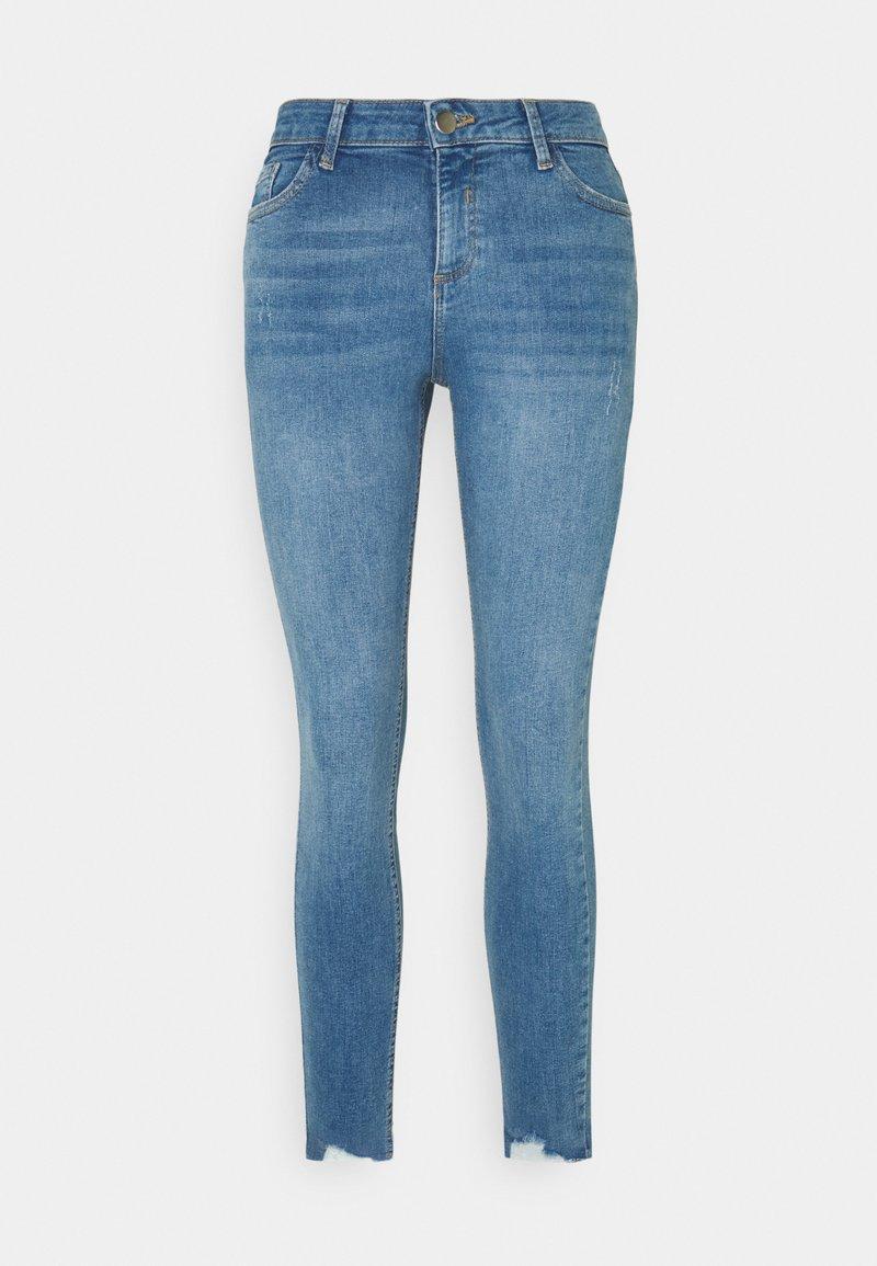 Dorothy Perkins - NIBBLE DARCY - Jeans Skinny Fit - light wash denim