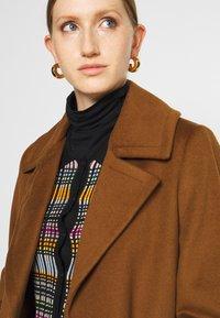 Sand Copenhagen - COAT CLARETA BELT - Classic coat - brown - 3