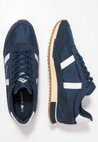 Lacoste - PARTNER RETRO - Sneaker low - navy/offwhite - 1