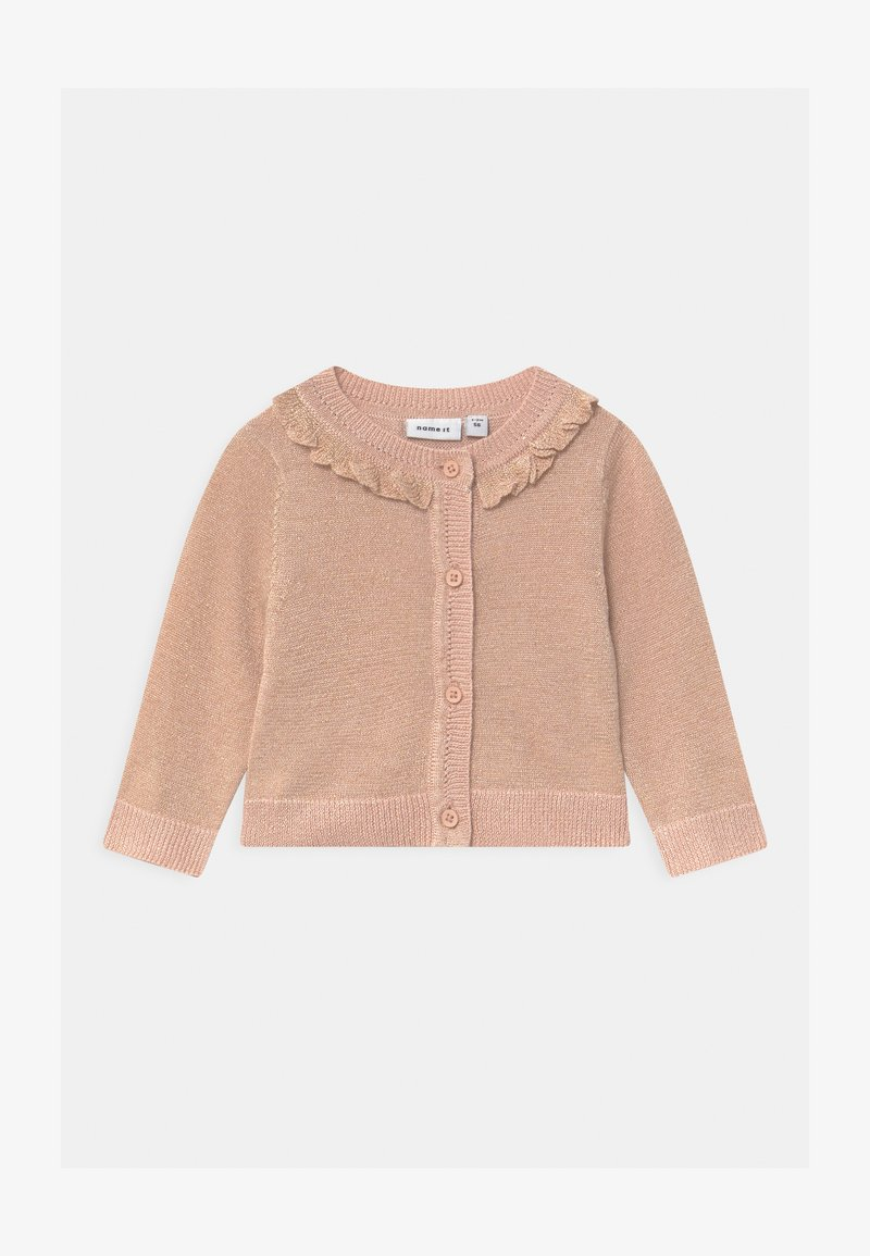 Name it - NBFTAMILLE  - Cardigan - peach whip