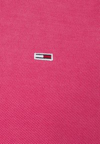 Tommy Jeans - GARMENT DYE - Polotričko - pink - 2