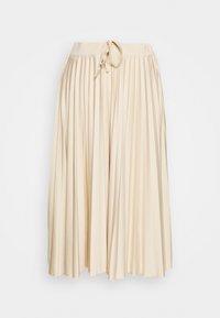 edc by Esprit - Veckad kjol - beige - 3