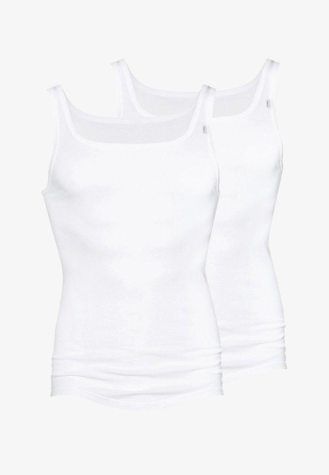 2PACK - Undershirt - weiß