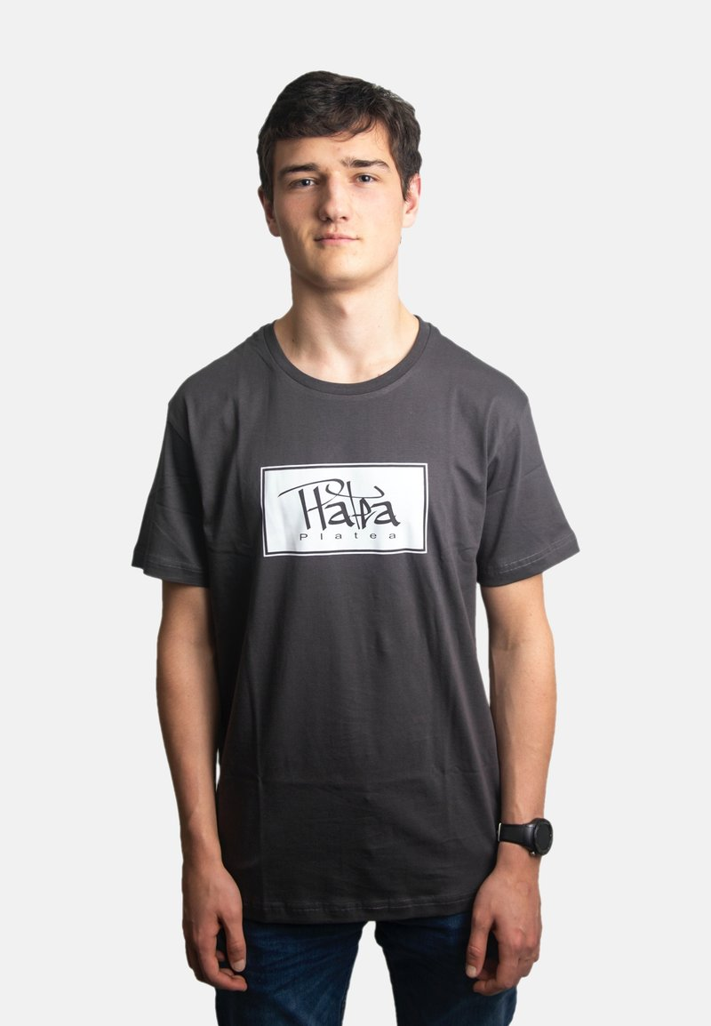 Platea - Print T-shirt - grau