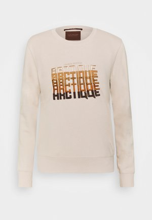 CREWNECK WITH CHEST ARTWORK - Sweatshirt - ivory
