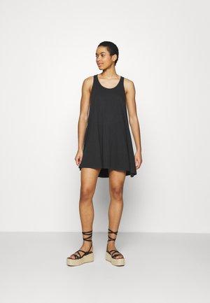 SWINGY DRESS - Jerseykjoler - true black