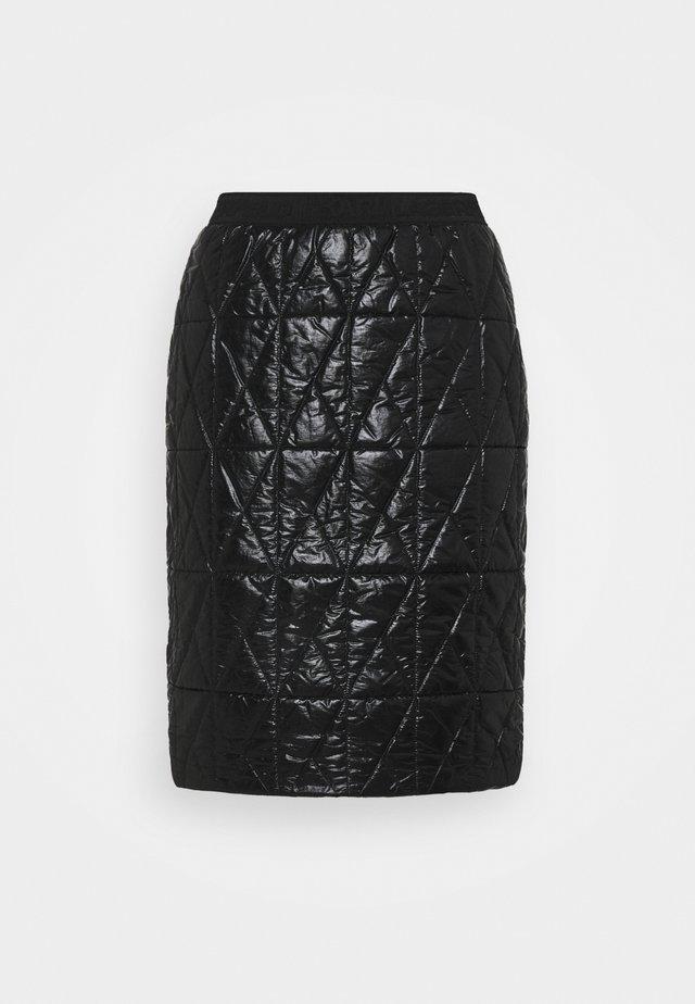 QUILTED SKIRT - Blyantnederdel / pencil skirts - black