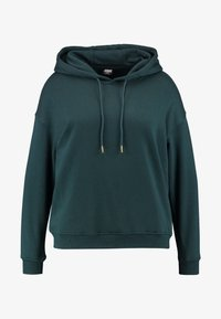 LADIES HOODY - Mikina s kapucí - bottlegreen