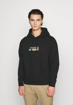 BETWEEN THE EYES - Hoodie - black