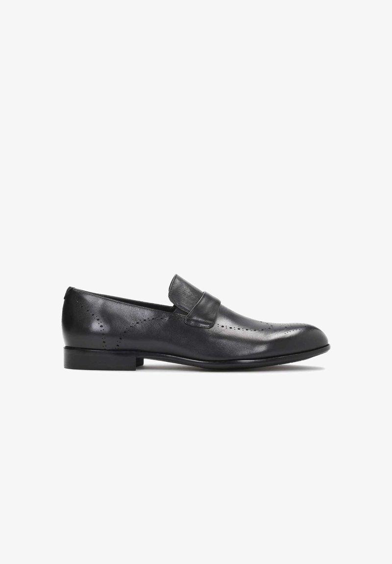 Kazar - OBAN - Elegantní nazouvací boty - black