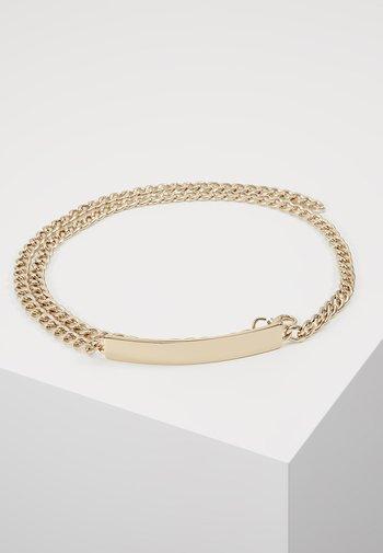 Waist belt - gold-coloured