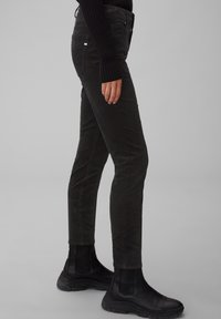 Marc O'Polo - ALBY  - Trousers - black - 3
