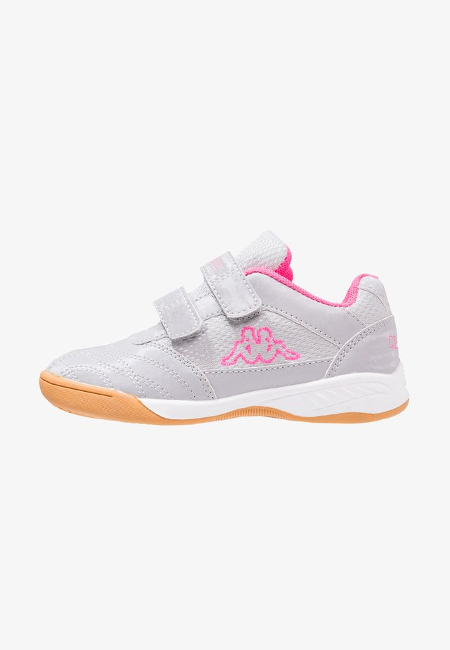 KICKOFF  - Sports shoes - silver/pink