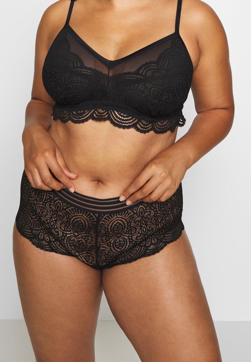 Ashley Graham Lingerie by Addition Elle - ESSENTIAL BOYSHORT - Onderbroeken - black
