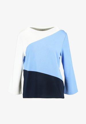 COLORBLOCK - Langærmede T-shirts - sea blue