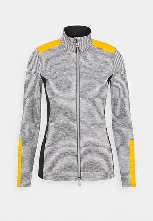 WOMEN RADUN MIDLAYER JACKET - Fleecová bunda - gold honey yellow