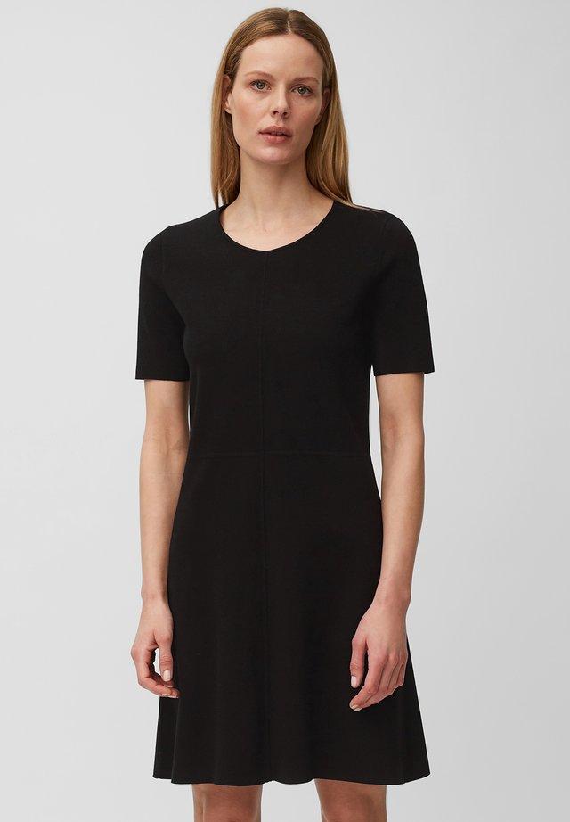 Korte jurk - pure black