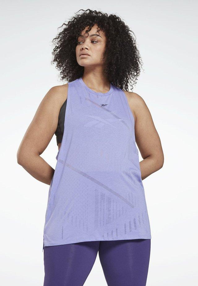 PLUS SIZE - Sports shirt - purple