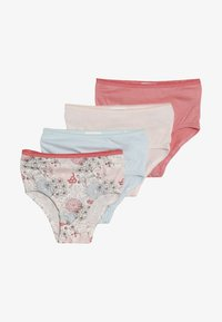 Jacky Baby - FLOWERS 4 PACK - Briefs - light blue