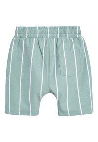 Next - BLUE VERTICAL STRIPE T-SHIRT AND SHORTS SET (3MTHS-7YRS) - Shorts - blue - 4