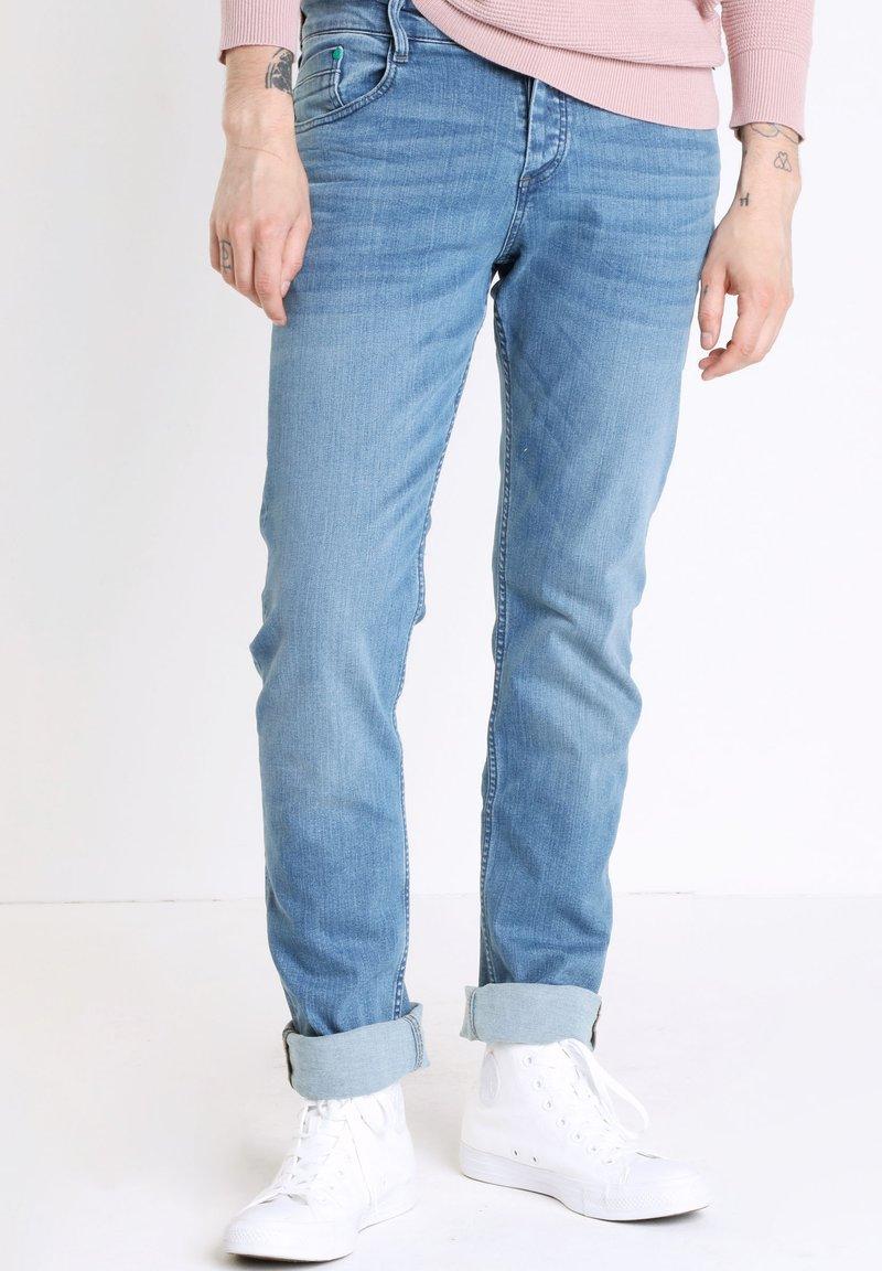 BONOBO Jeans - INSTINCT - Straight leg jeans - stone blue denim