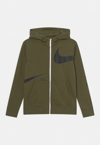 Nike Sportswear - Mikina na zip - rough green/black - 0
