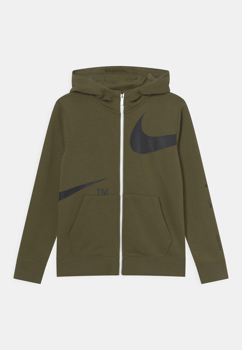 Nike Sportswear - Mikina na zip - rough green/black