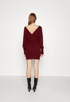 ABITO - Jumper dress - dark red
