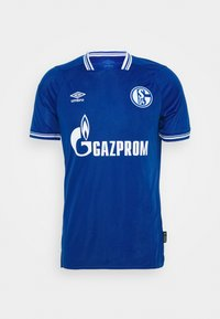 Umbro - FC SCHALKE 04 HOME - Club wear - deep surf/brilliant white - 4