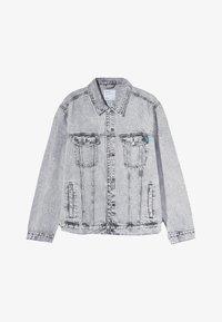 Bershka - Veste en jean - grey - 4