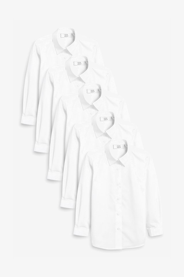 FIVE PACK - Košile - white
