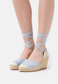 SassyClassy - Platform heels - blue - 0