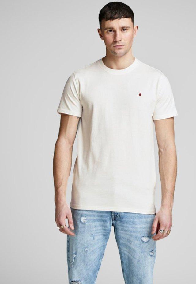 JJ-RDD CREW NECK - T-shirts basic - off-white