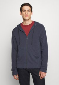 James Perse - VINTAGE HOODIE - Sweater met rits - deep - 0