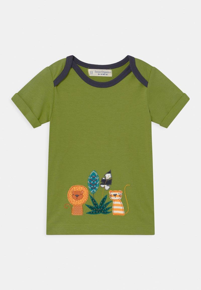Sense Organics - TOBI ANIMAL BABY  - Print T-shirt - green