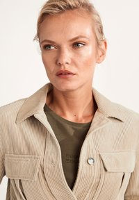 comma casual identity - Summer jacket - dark beige - 2