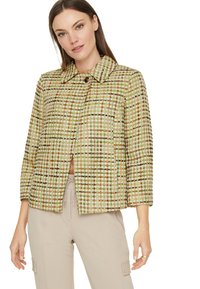 comma - Light jacket - spring green jaquard - 4