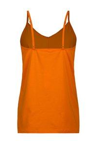 Short Stories - Pyjamashirt - orange - 1