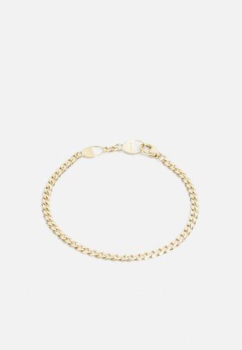 CUBAN LINK BRACELET UNISEX - Bracelet - gold-coloured