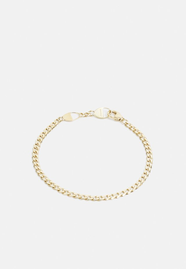 CUBAN LINK BRACELET UNISEX - Rannekoru - gold-coloured