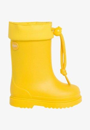 Botas de agua - amarillo