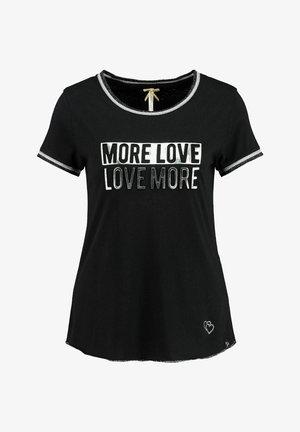 """MORE"" - Print T-shirt - schwarz"