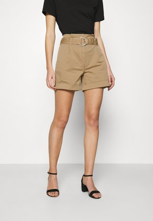 PAPERBAG - Shorts - travertine