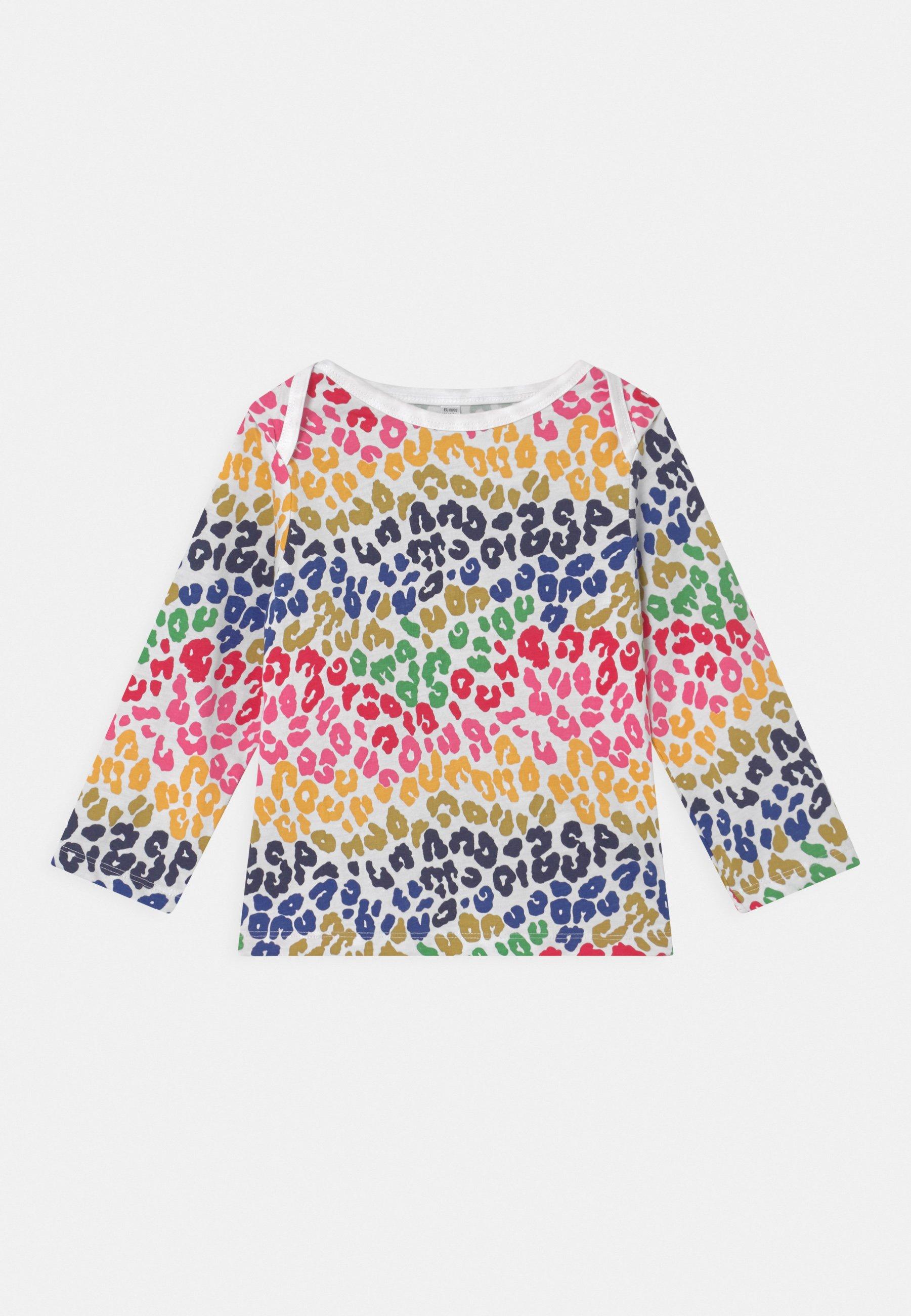 Kids RAINBOW LEOPARD TEE UNISEX - Long sleeved top