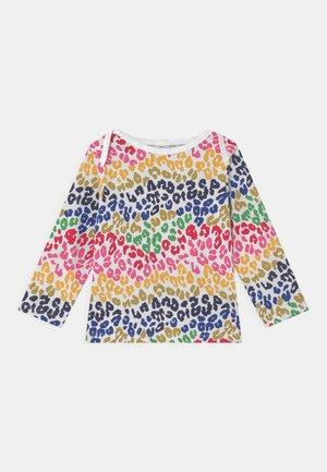 RAINBOW LEOPARD TEE UNISEX - Long sleeved top - multi-coloured