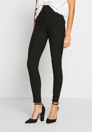NMMEDLEY SLIM PANT - Leggings - black